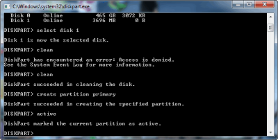Cara Membuat Bootable Flashdisk Windows Tanpa Software