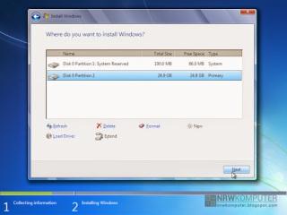 Cara Menginstall Windows 7 Lengkap Dengan Gambar - 8
