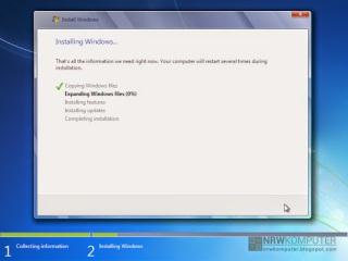 Cara Menginstall Windows 7 Lengkap Dengan Gambar - 9