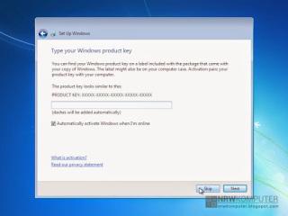 Cara Menginstall Windows 7 Lengkap Dengan Gambar - 17