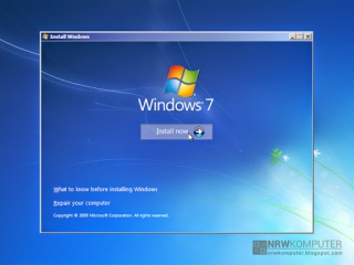 Cara Menginstall Windows 7 Lengkap Dengan Gambar - 2