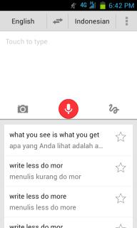 Google Translate Lebih Interakrif Dengan Menggunakan Suara Kita - 1